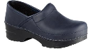Dansko Gitte Clog for Kids in Blueberry Oil 23