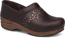 Dansko Patricia Clog for Women in Antique Brown 38