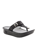 Alegria Carina Sandal in Chained Black for Women