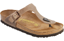 Birkenstock Gizeh Sandal for Women in Tobacco 39R