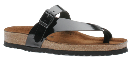 Naot Tahoe Sandal for Women in Black Patent