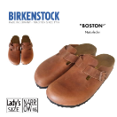 Birkenstock Boston Clog for Women in Naturleder 40N