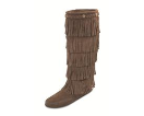 Minnetonka 5-Layer Fringe Boot for Women