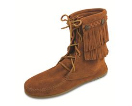 Minnetonka Double Fringe Tramper Boot for Women