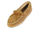 Minnetonka Sheepskin Hardsole Moccasin for Men