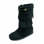 Minnetonka Children's 3-Layer Fringe Boot
