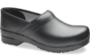 Dansko Professional Box Leather Clog Men