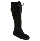 Minnetonka Front Lace Hardsole Knee Hi Boot for Men