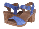 Dansko Debbie Sandal for Women in Blue 38