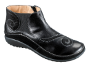 Naot Chi Ankle Boot for Women in Black Madras