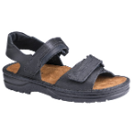 Naot Lappland Sandal for Men in Black 48