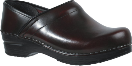 Sanita Professional Clog in Black Patent Leather for Men
