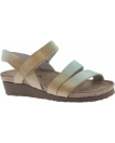 Naot Kayla Sandal for Women in Mint Beige Leather