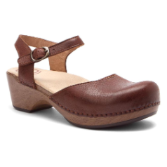 Dansko Sam Clog for Women in Brown Soft FG 38