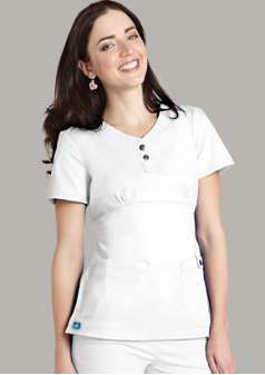 Adar Empire Henley Top for Women