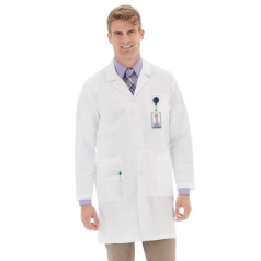 "META 38"" Stretch iPad Lab Coat for Men"