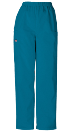 NYUWinthrop Cherokee Pull-On Cargo Pants 4200 Caribbean Blue