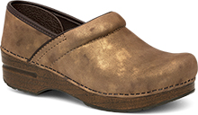 Dansko Professional Clog For Women In Bronze Metallic