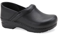 Dansko Gitte Clog for Kids in Black Oil 25