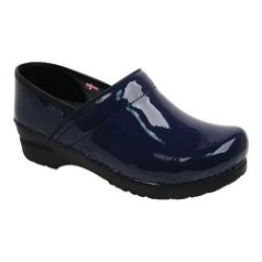 Sanita Professional Clog For Women in Blue Patent