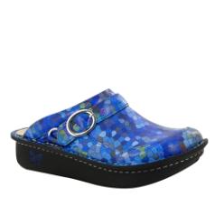 Alegria Seville Honeycomb Blues Clog for Women