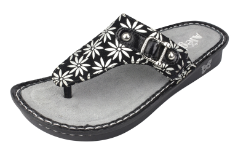 Alegria Vanessa Sandal for Women in Silver Gerber