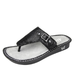 Alegria Vanessa Sandal for Women in Black Jewel