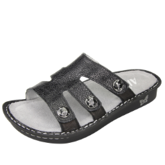 Alegria Venice Sandal for Women in Masonry Black