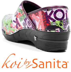 Sanita Koi Collection of Clogs- Where Fashion meets Function