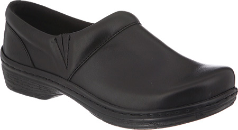 Klogs Mission Clog for Women in Black Smooth