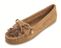 Minnetonka Feather Moccasin for Women