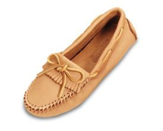 Minnetonka Moosehide Driving Moccasin for Women