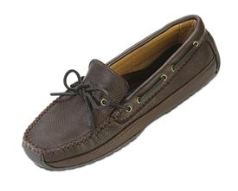 Minnetonka Moosehide Weekend Moccasin for Men