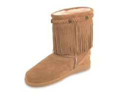 Minnetonka Fringe Classic Pug Boot for Women
