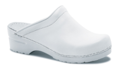 Dansko Sonja Clog for Women in White Box Leather