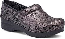 Dansko Professional Clog for Women in Pewter Iridescent