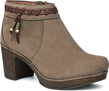 Dansko Dabney Ankle Bootie for Women in Taupe 38