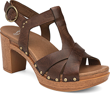 Dansko Daniela Sandal for Women in Teak 38