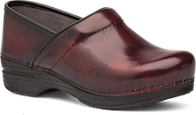 Dansko Pro XP Clog for Women in Burgundy Cabrio