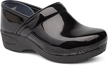 Dansko Pro XP 2.0 Clog for Women in Black Patent Leather WIDE