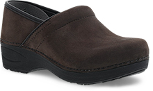 Dansko Pro XP 2.0 Clog for Women in Chocolate Nubuck