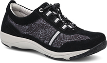 Dansko Helen Sneaker For Women in Black Print 38