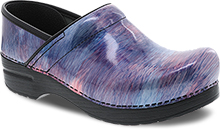 Dansko Professional Clog For Women in Cotton Candy Patent