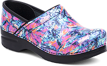 Dansko Professional Clog For Women In Color Burst Patent 41,42