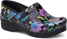 Dansko Professional Clog For Women In Wildflower Patent