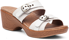 Dansko Jessie Sandal For Women in White Multi 38
