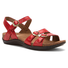 Dansko Janis Sandal for Women in Red 40