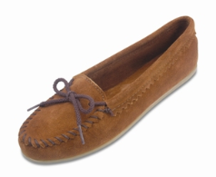 Minnetonka Suede Skimmer Moccasin for Women