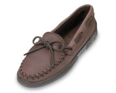 Minnetonka Moosehide Classic Moccasin for Women