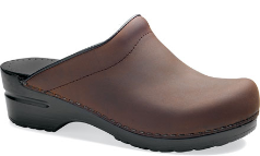 Dansko Sonja Clog for Women in Oiled Leather